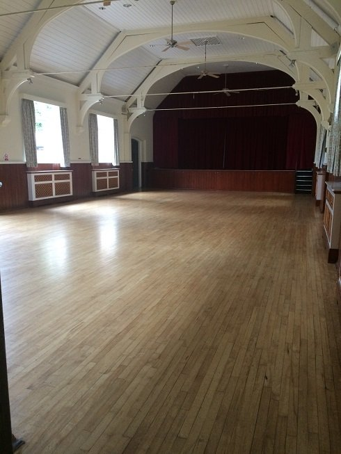 Queen's Hall empty