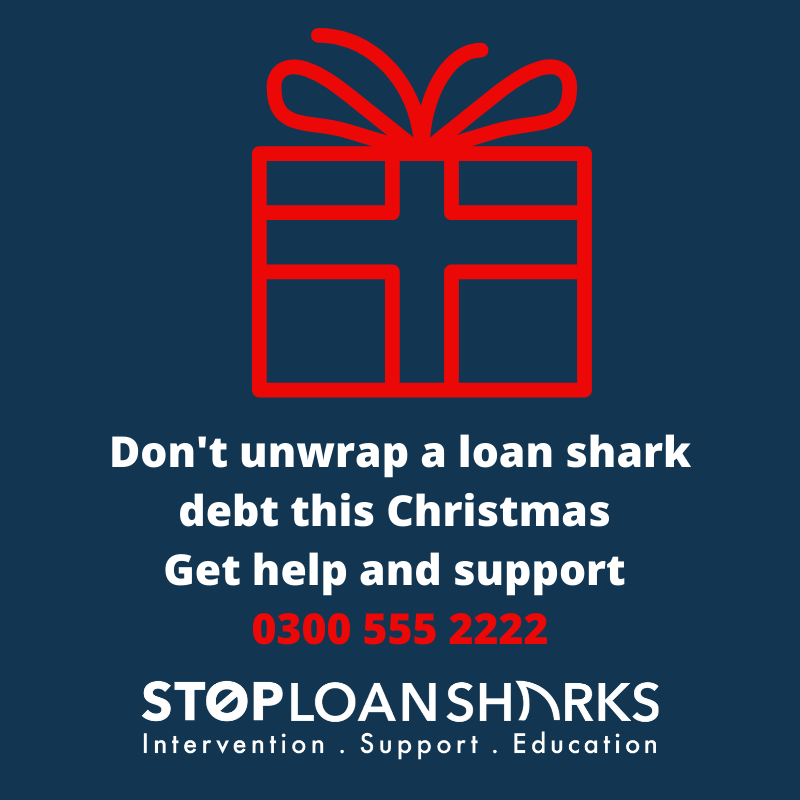 Dont Unwrap Loan Shark Debt Christmas