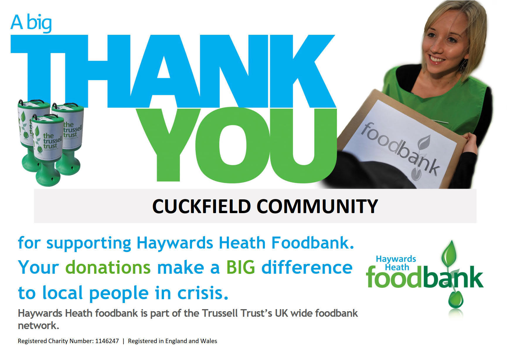 Foodbank Thanks